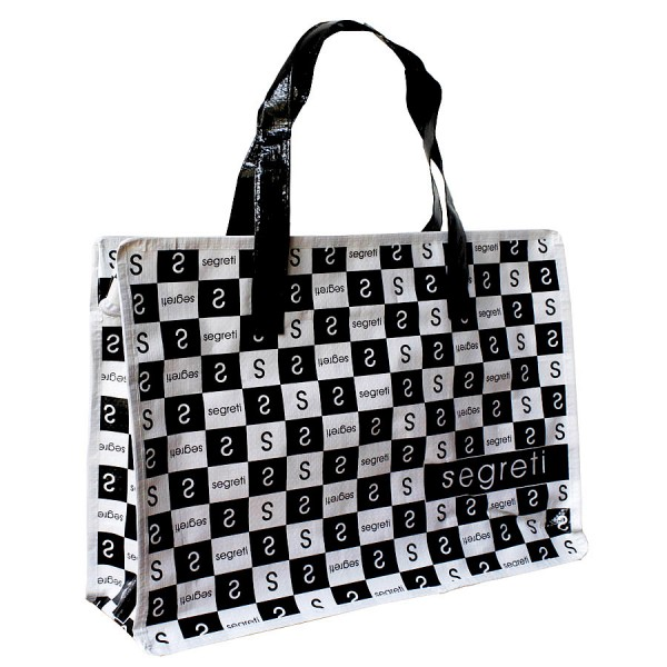 PP woven zipper bag/shopping bag/reusable bag SEGRETI - BNL ...